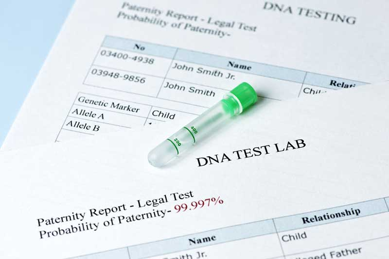 Paternity Test and Suit Vancouver Washington